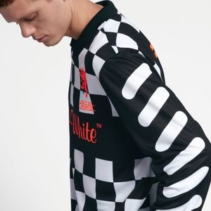 861817f19f5 Off-White Shirts | Offwhite X Nike Checker Mon Amour Football Jersey ...